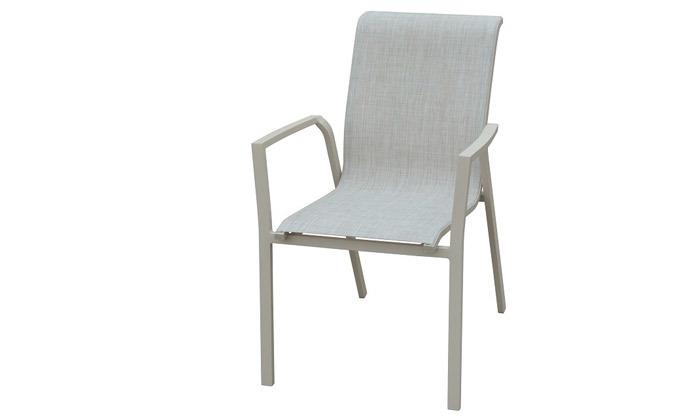 3 סט שולחן מלבני ו-4/6/8 כיסאות לגינה SCAB