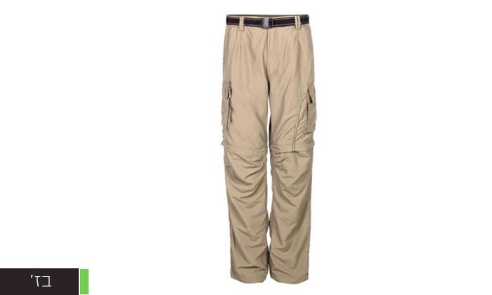 6 מכנסי טיולים לגברים - משלוח חינם
