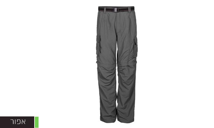 3 מכנסי טיולים לגברים - משלוח חינם