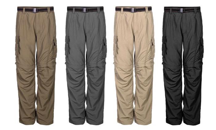 2 מכנסי טיולים לגברים - משלוח חינם