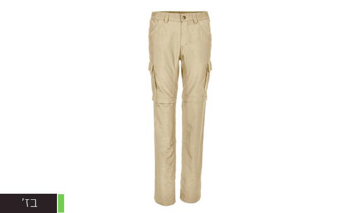 4 מכנסי טיולים ארוכים אאוטדור לנשיםLYNX - משלוח חינם