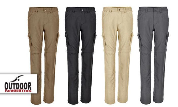 2 מכנסי טיולים ארוכים אאוטדור לנשיםLYNX - משלוח חינם