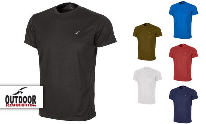 2  מארז 3 חולצות מנדפות זיעה לגברים OUTDOOR REVOLUTION