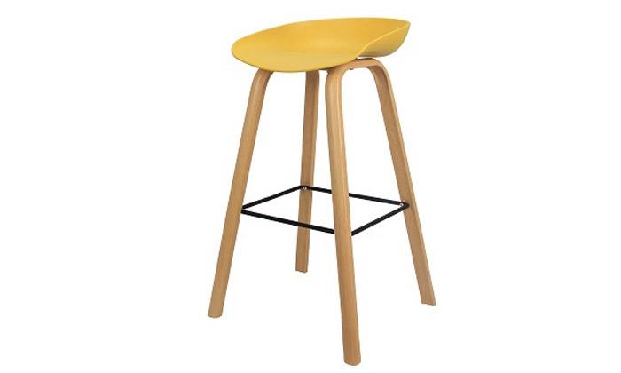 3 כיסא בר בעיצוב סקנדינבי