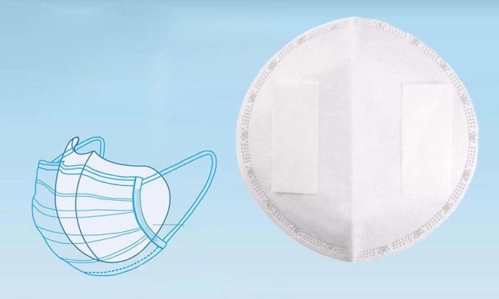 2 מגנים על הסביבה מקורונה: מארז פדים מסננים חד פעמיים למסכת פנים