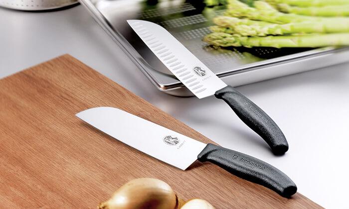 6 מארז סכין שף ומשחיז VICTORINOX