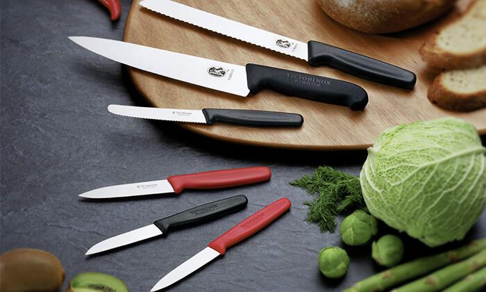 7 מארז סכין שף ומשחיז VICTORINOX