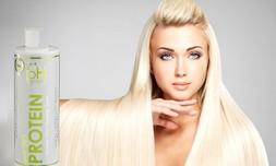 בקבוק החלקת שיער אורגנית