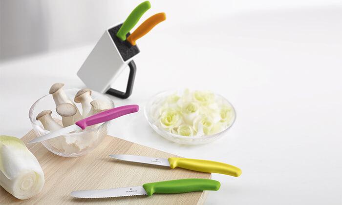 6 סט סכיני חיתוך מבית VICTORINOX