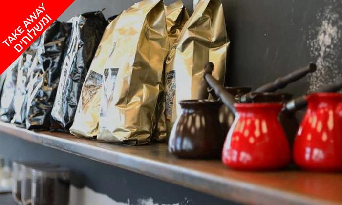 4 קילו קפה לבחירה במשלוח חינם מהגלריה לקפה, תל אביב