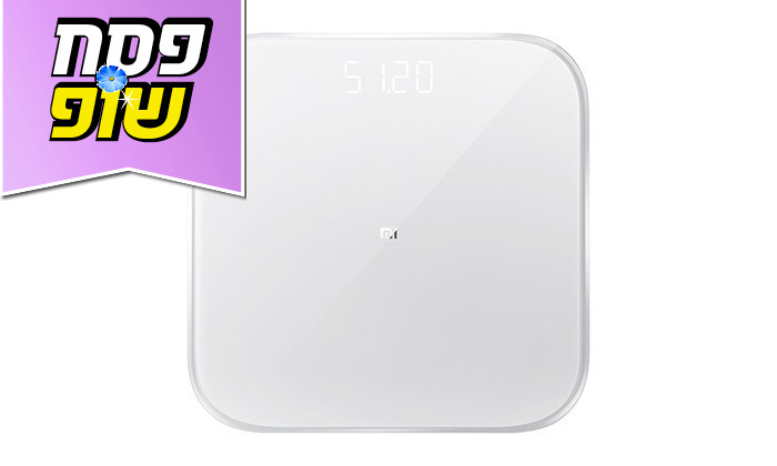 6 משקל אדם חכם דור 2, דגם Xiaomi Mi Smart Scale