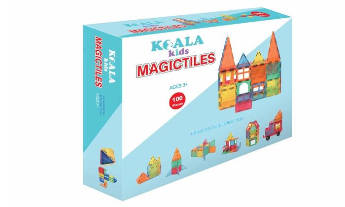 משחק מגנטים 100 חלקים KOALA KIDS
