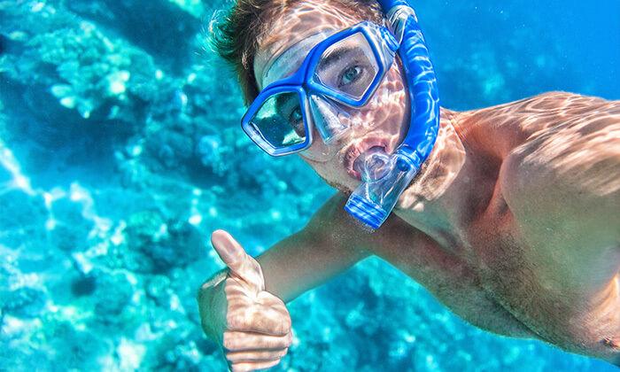 3 אטלנטיס ספורט ימי - עושים שנורקל באילת