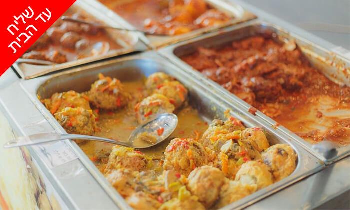 6 ארוחת חג כשרה לליל הסדר - משלוח חינם מאולמי אגמים, באר שבע