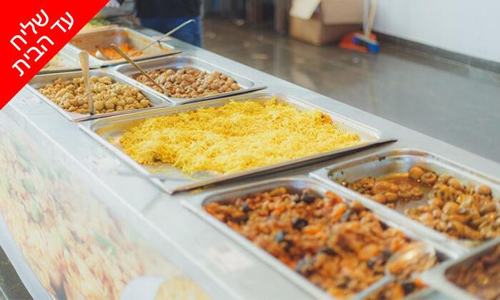 10 ארוחת חג כשרה לליל הסדר - משלוח חינם מאולמי אגמים, באר שבע