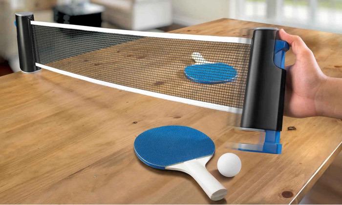 2 ערכת פינג פונג לשולחן הביתי