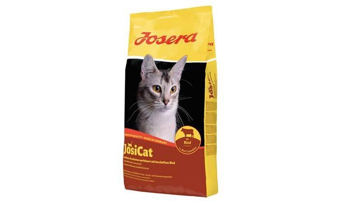 3 3 שקי מזון יבש לחתולים JosiCat