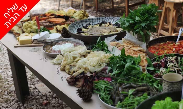 7 מארז מאפים וממרחי שף במשלוח חינם מקייטרינג 'המשתה'
