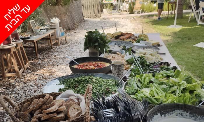 8 מארז מאפים וממרחי שף במשלוח חינם מקייטרינג 'המשתה'