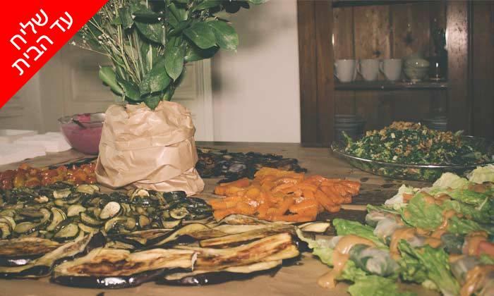 13 מארז מאפים וממרחי שף במשלוח חינם מקייטרינג 'המשתה'