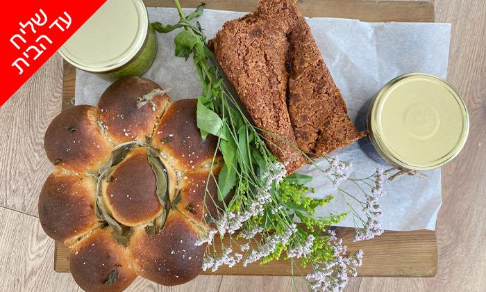 4 מארז מאפים וממרחי שף במשלוח חינם מקייטרינג 'המשתה'
