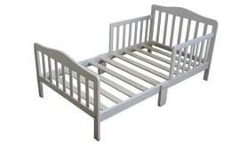 מיטת מעבר מעץ מלא עם מזרן