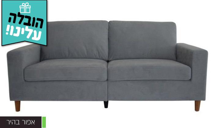 4 ספה תלת מושבית דגם וינה - משלוח חינם!