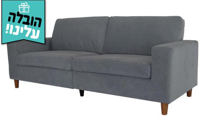 2 ספה תלת מושבית דגם וינה - משלוח חינם!