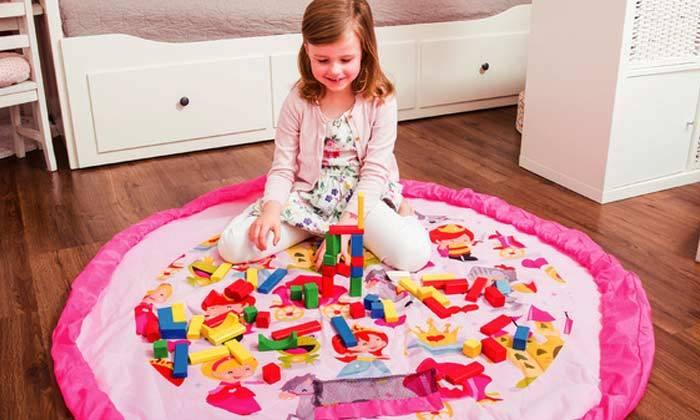 5 משטח משחקים המתקפל לשק צעצועים