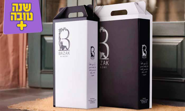 3 מארז יינות כשרים מ-Bazak Winery