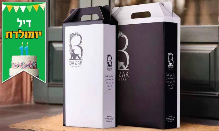 3 מארז 6 יינות כשרים מ-Bazak Winery