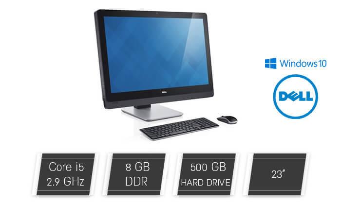 2 מחשב נייח DELL AIO עם מעבד i5