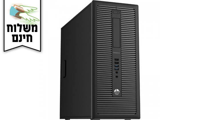 4 מחשב נייח HP עם מקלדת ועכבר - משלוח חינם