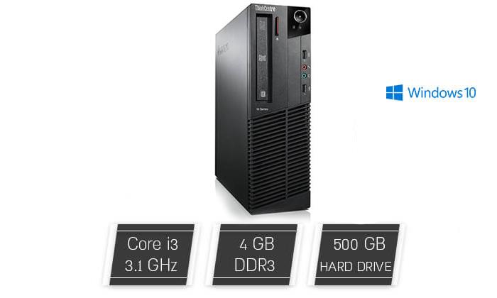 2 מחשב נייח DELL, HP או LENOVO עם מעבד i3