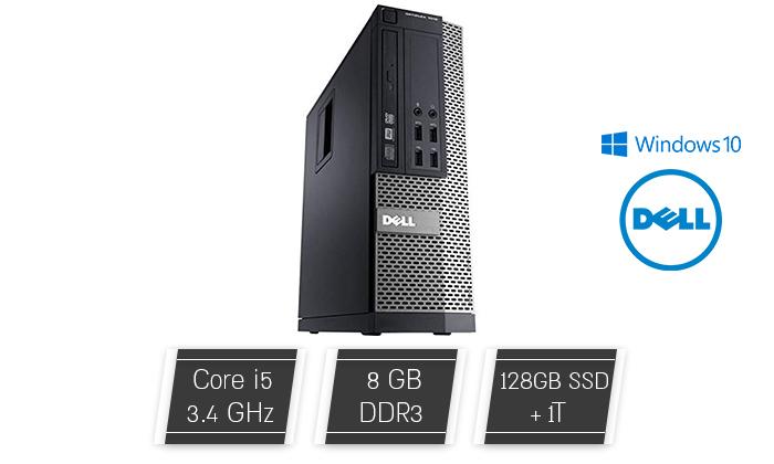 2 מחשב נייח DELL/HP עם מעבד i5
