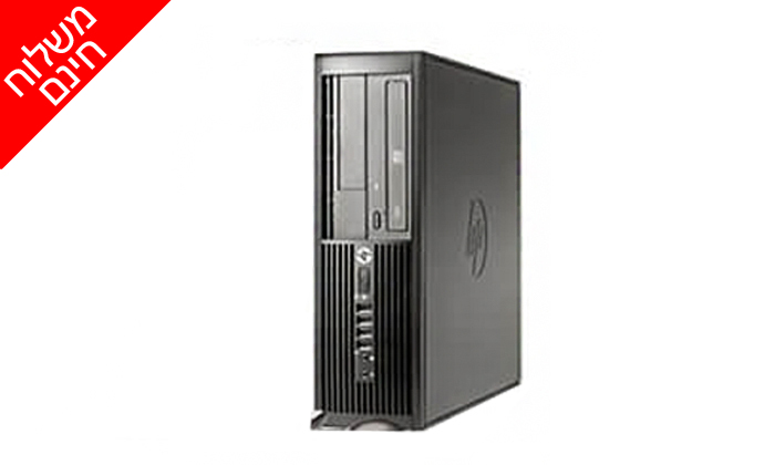 3 מחשב נייח מחודש HP/DELL/Lenovo עם זיכרון 8GB ומעבד i5 - משלוח חינם