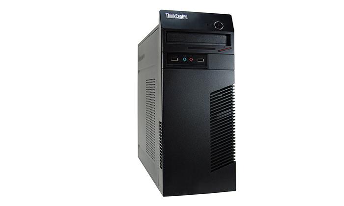 4 מחשב נייח מחודש Lenovo/HP עם זיכרון 8GB ומעבד i3
