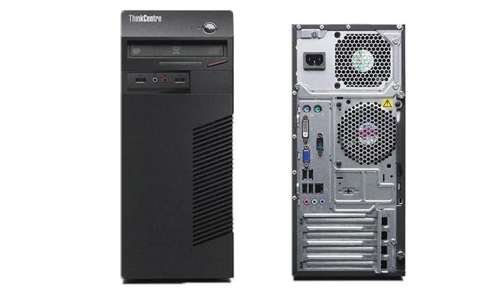 3 מחשב נייח מחודש Lenovo/HP עם זיכרון 8GB ומעבד i3