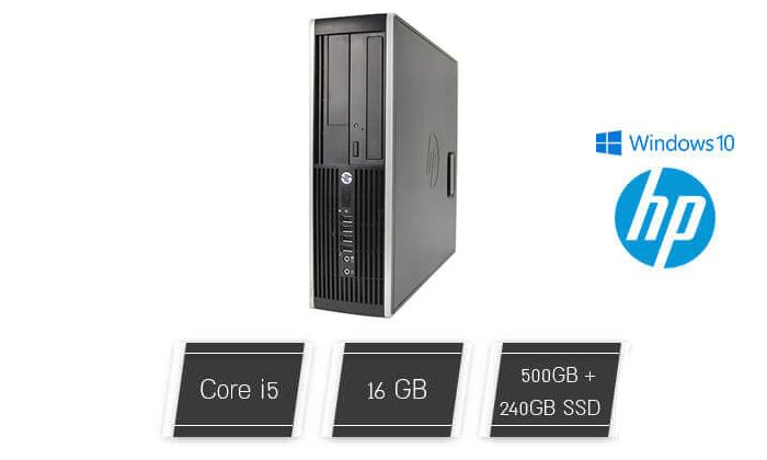 מחשב נייח HP עם מעבד i5 - משלוח חינם