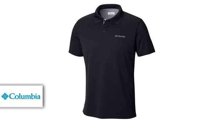 2 חולצת פולו לגברים Columbia