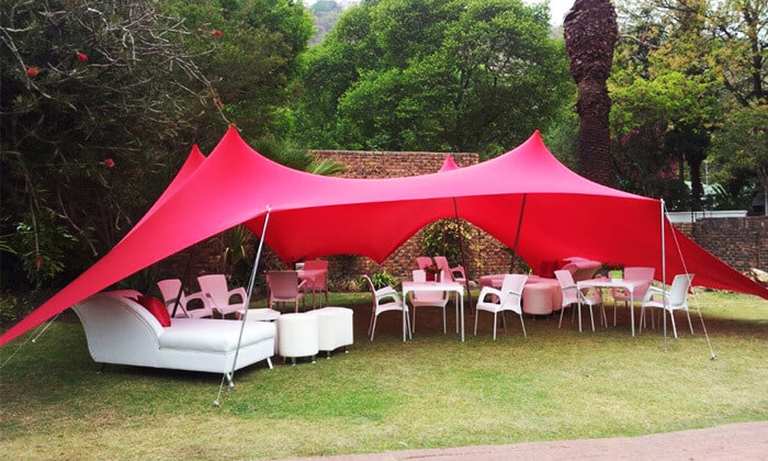 3 EventShade אוהל ענק לאירועים מבית טרנקילו