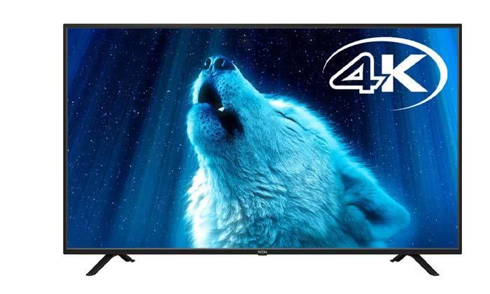 2 טלוויזיה חכמה 4K נאון NEON בגודל 60 אינץ'