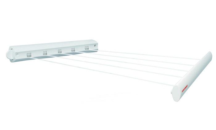 2 מתקן כביסה נגלל לתלייה על הקיר LEIFHEIT דגם Rollfix 210