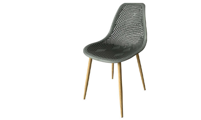 3 סט 4 כיסאות פלסטיק