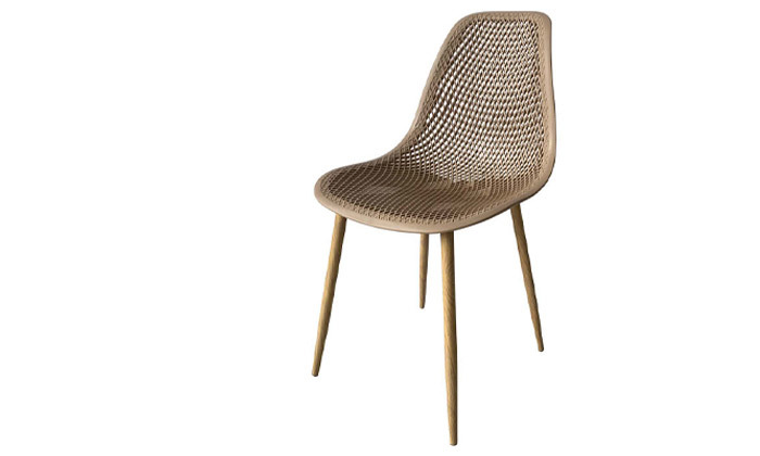 5 סט 4 כיסאות פלסטיק