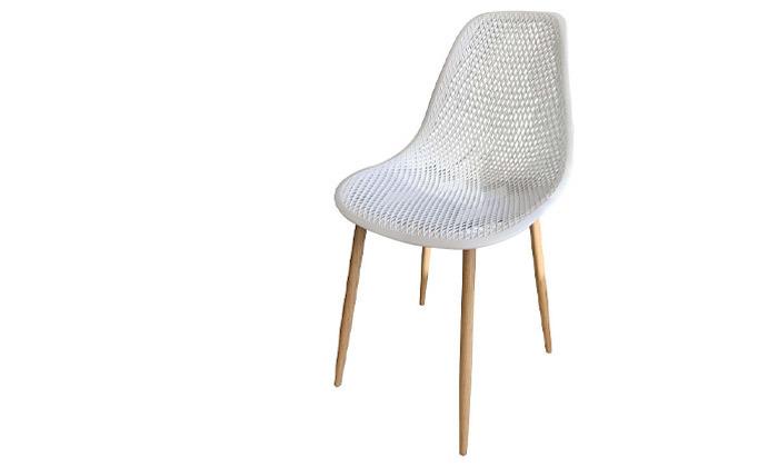 4 סט 4 כיסאות פלסטיק
