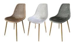 סט 4 כיסאות פלסטיקדגם טמפה