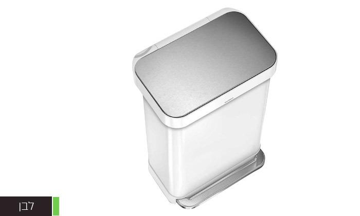 3 פח אשפה 55 ליטר למטבח Simplehuman