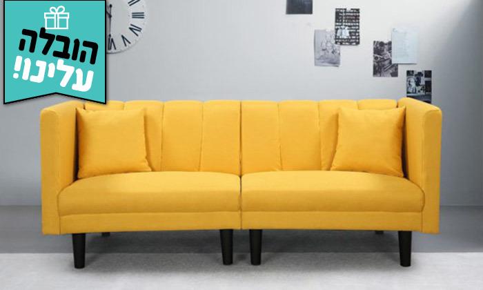 2 ספה נפתחת למיטה GAROX דגם סידני -משלוח חינם