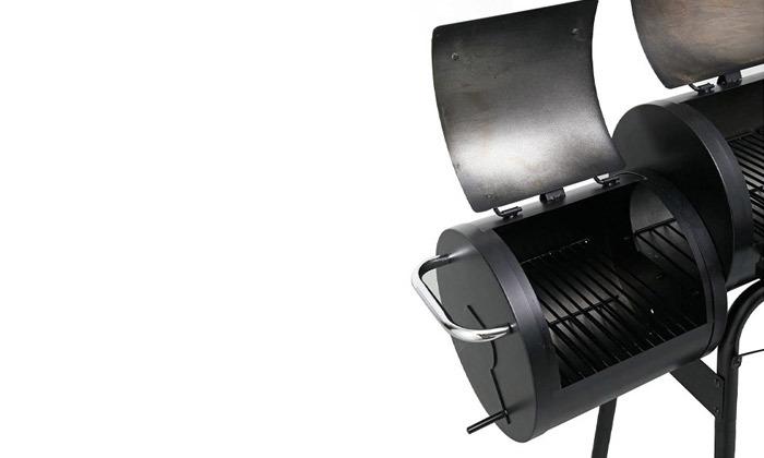5 מעשנת בשר משולבת גריל Peerless